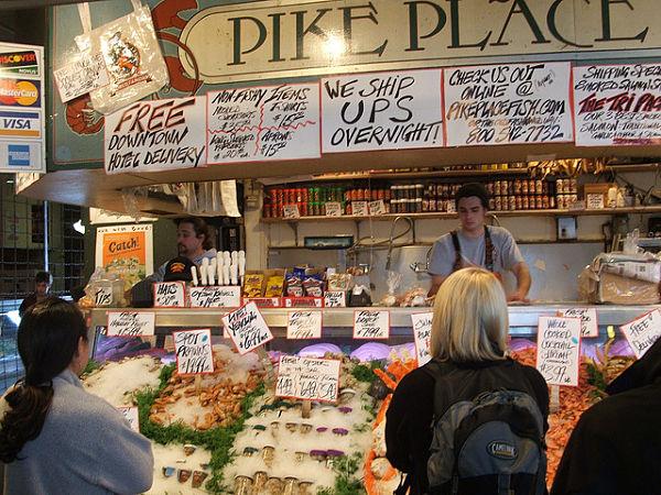 pike place pescado