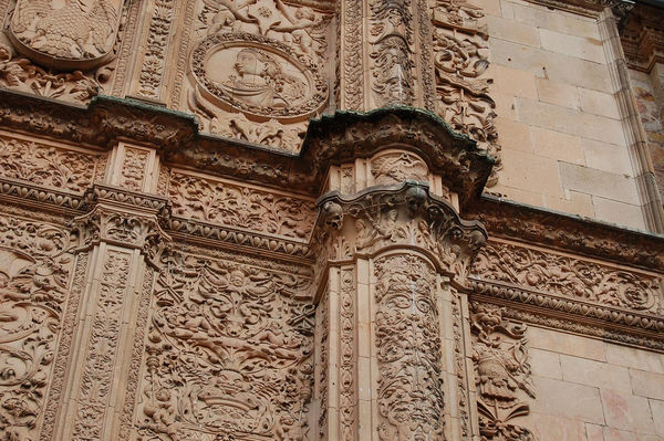 Universidad Salamanca ornamentacion