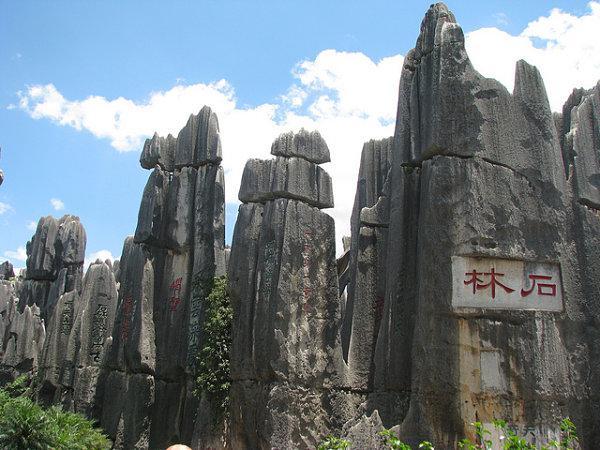 bosque piedra shilin china