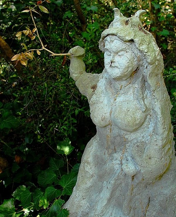 jardin botanico lluc dama dels boixos