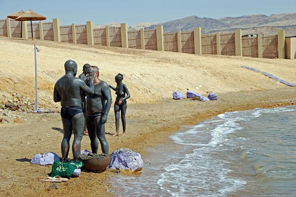 mar muerto barro