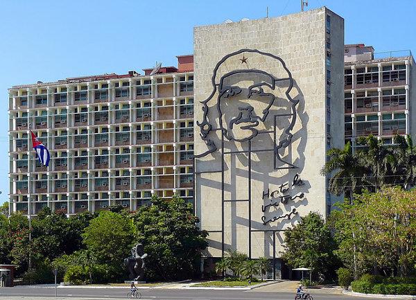 plaza revolucion cuba che guevara