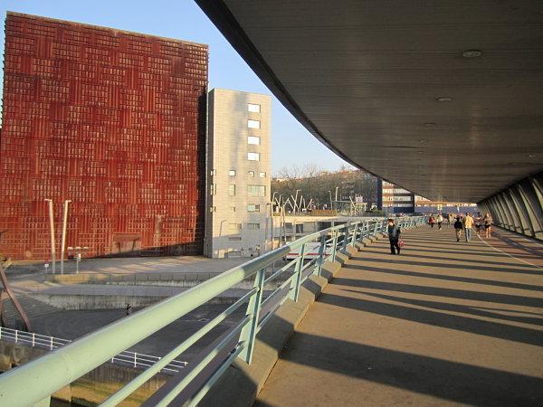 ria Bilbao puente Euskalduna