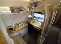 viajar primera clase asiento