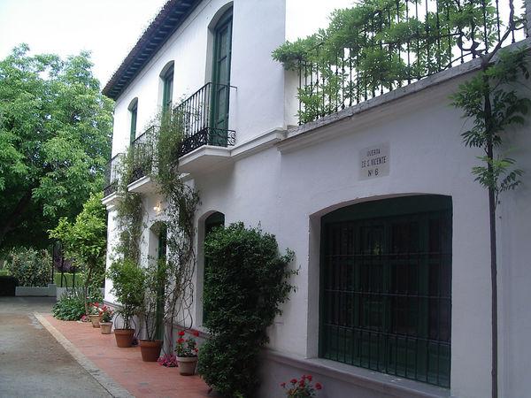 Parque federico garc a lorca un lugar para conocer algo for Huerta de san vicente muebles