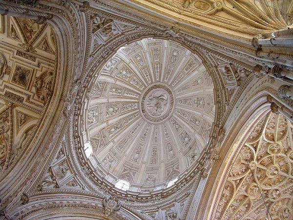 mezquita catedral cordoba boveda