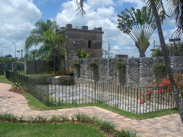castillo de coral