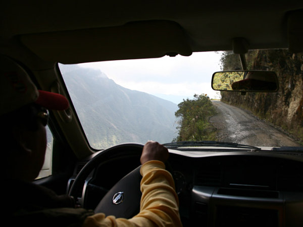 camino muerte yungas bolivia