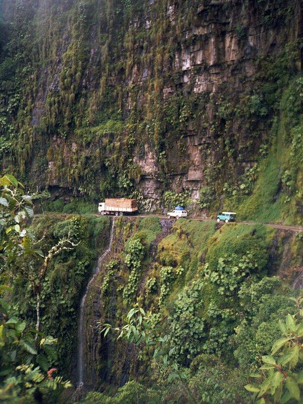 carretera muerte bolivia