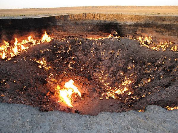 darvaza fuego