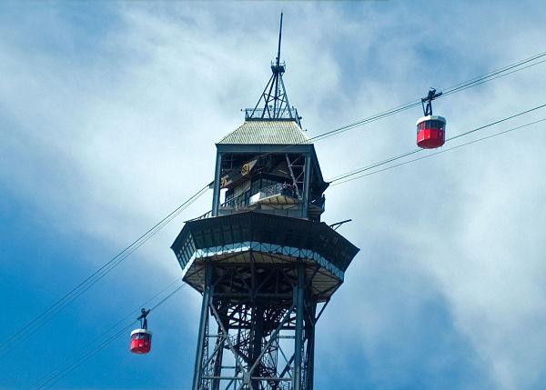 teleferico puerto barcelona torre jaime