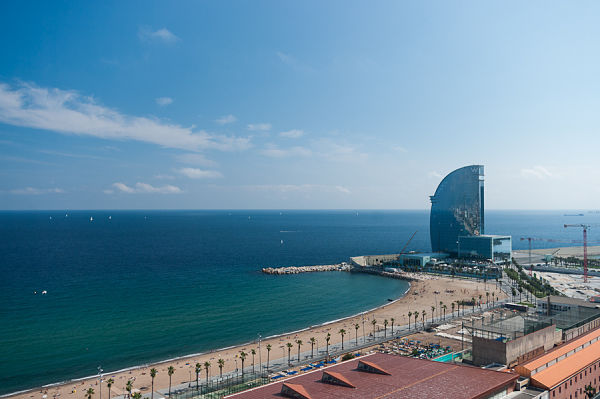 teleferico puerto barcelona vistas