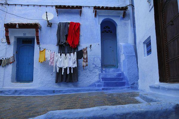 Chefchaouen ciudad azul Marruecos
