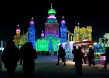 festival hielo nieve Harbin china