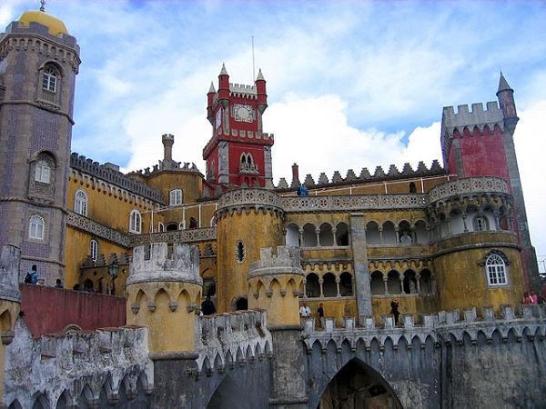 palacio da pena torres