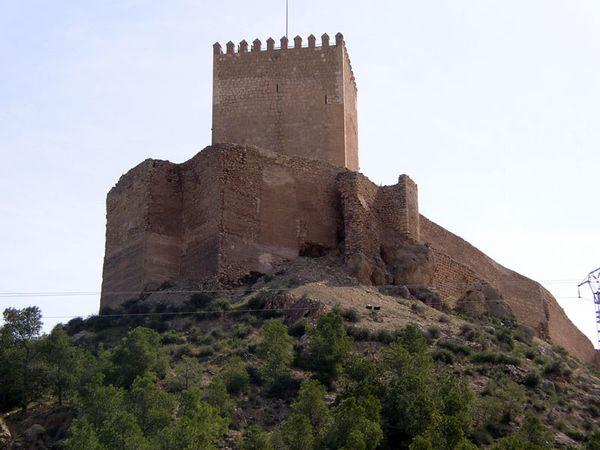 castillo lorca murcia