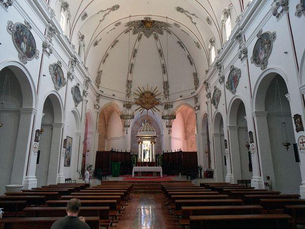 catedral ibiza virgen nieves
