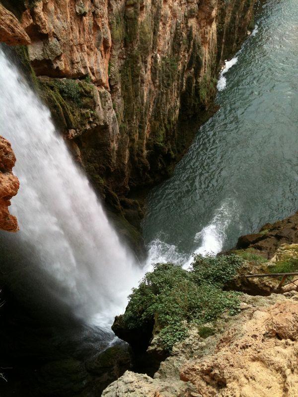 Monasterio Piedra cascada cola caballo