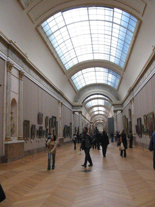museo Louvre galerias