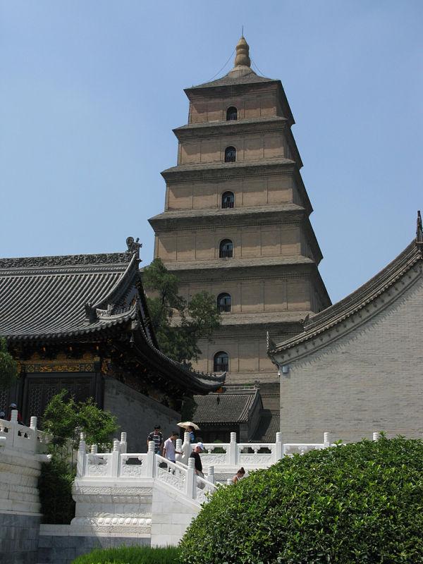 pagoda oca xian china