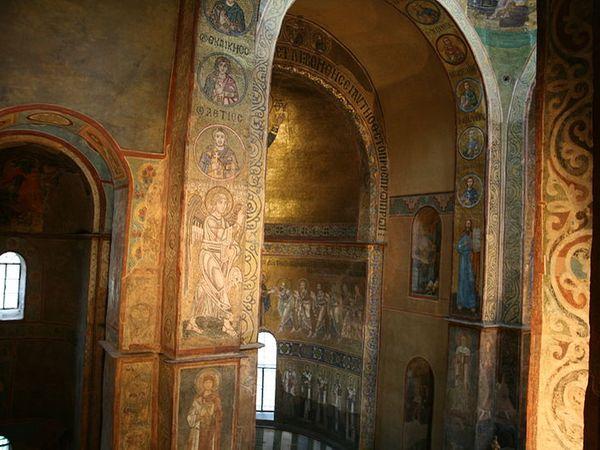 catedral santa sofia kiev interior