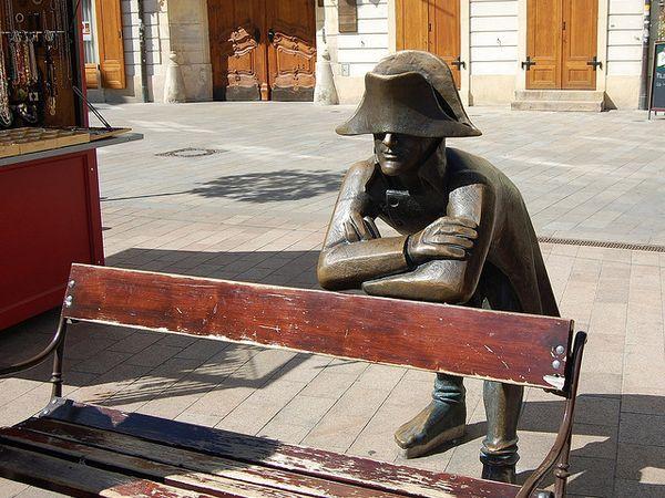 napoleon estatua bratislava