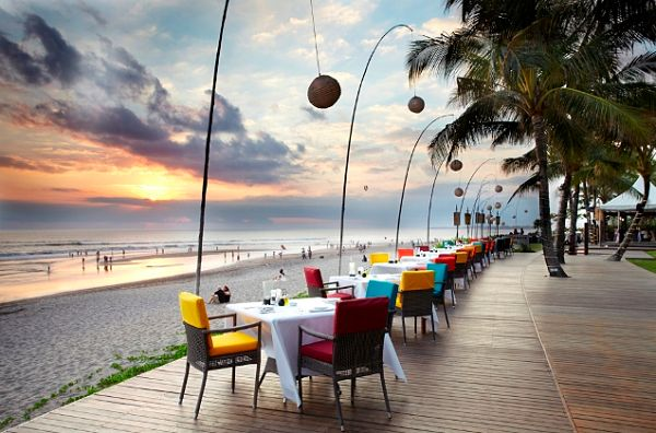 restaurante Breeze at the Samaya Indonesia