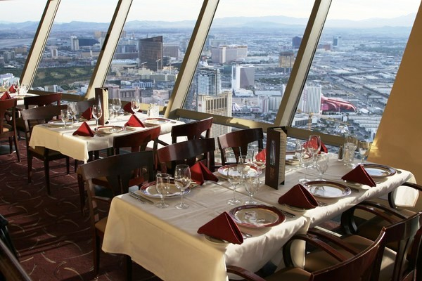 restaurante Top of the World Las Vegas