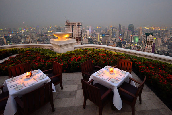 Restaurante Sirocco Tailandia