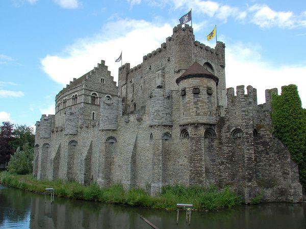 castillo condes Flandes
