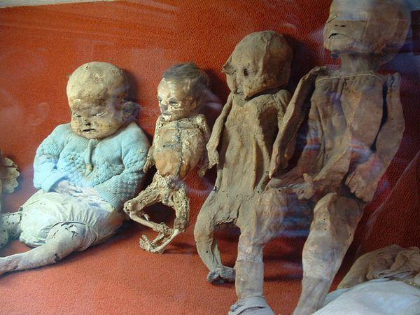museo momias Guanajuato bebes niños