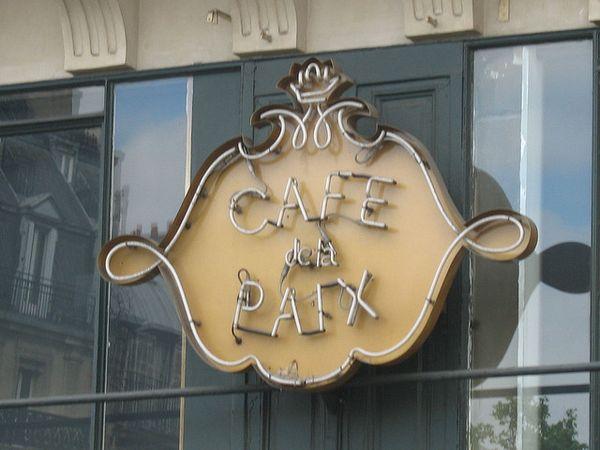 cafe paix