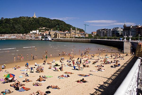 mejores playas españa concha san sebastian