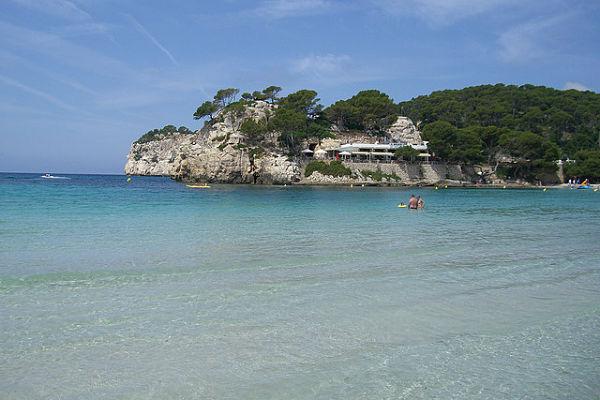 mejores playas españa galdana menorca