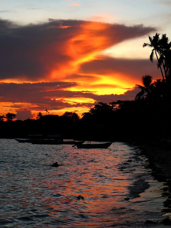 Isla de Panglao atardecer