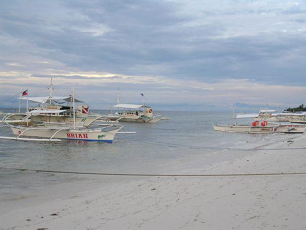 Isla Panglao embarcaciones