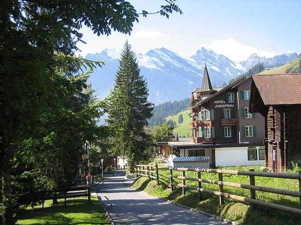 Murren suiza