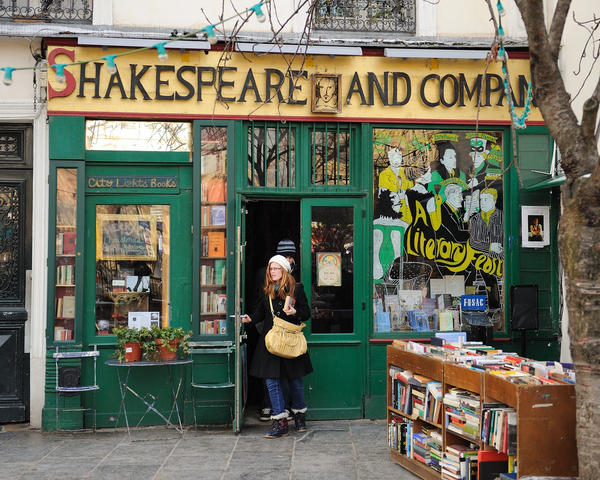 Shakespeare company libreria paris