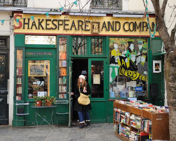 Shakespeare and Company, la historia de la librería más emblemática de París