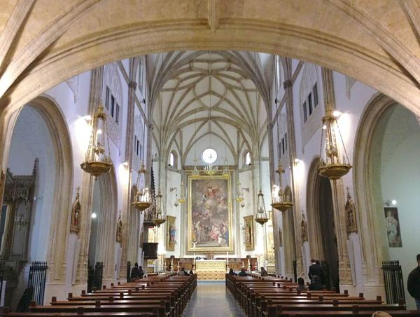 san jeronimo el real interior