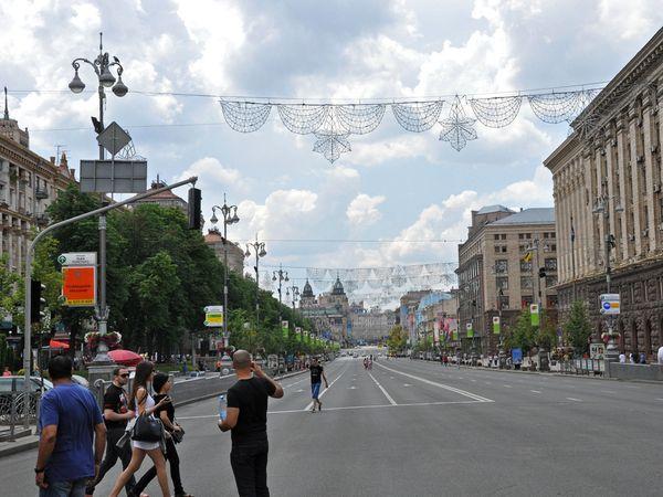 Kiev calle Khreschatyk