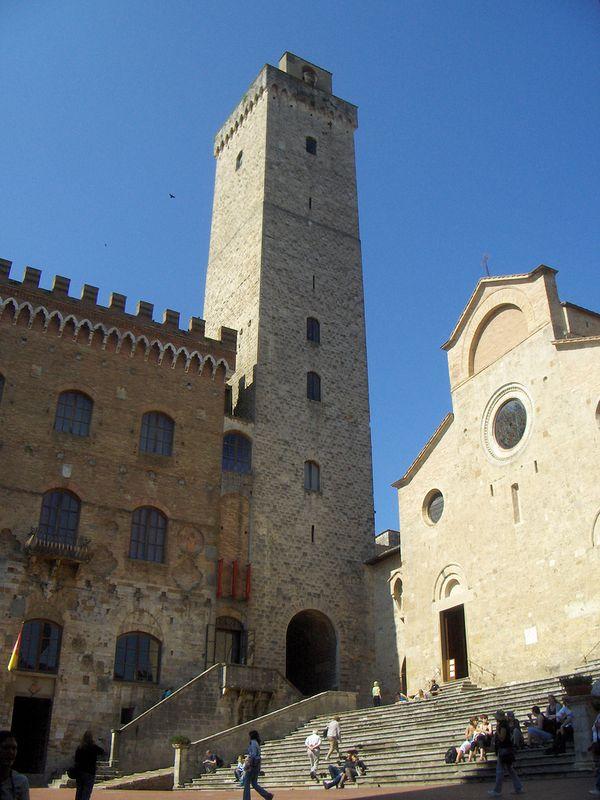 San Gimignano torres
