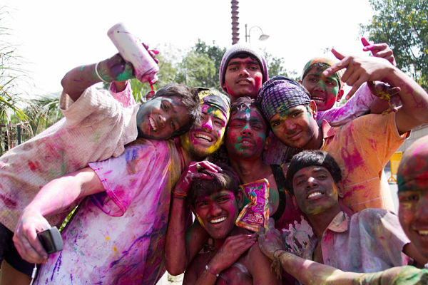 Holi, la fiesta del color de la India