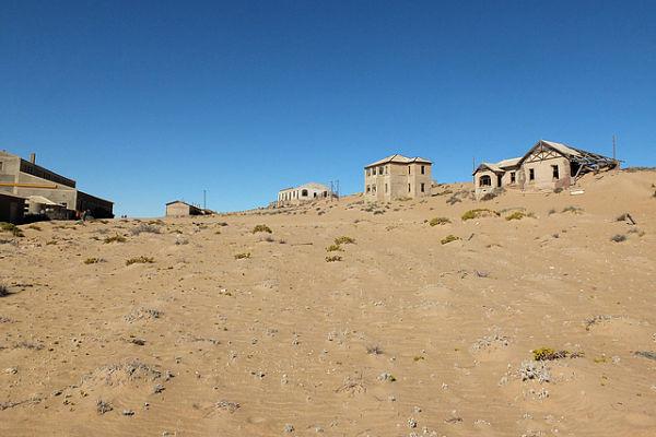 lugares abandonados Kolmanskop