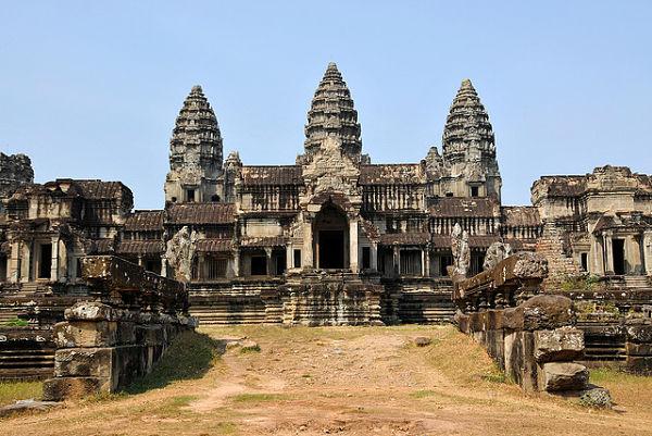 lugares abandonados angkor wat