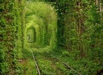 lugares abandonados tunel amor klevan