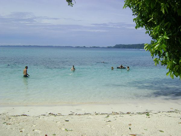 Islas Palau playas
