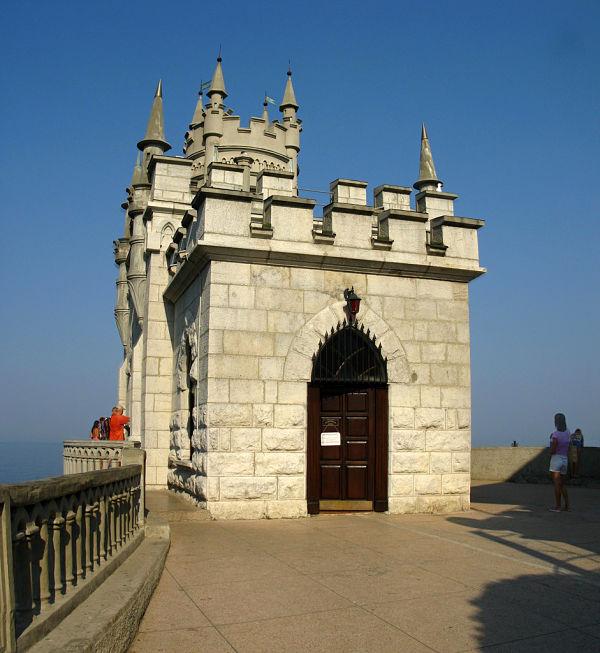 castillo Swallow's Nest mar negro
