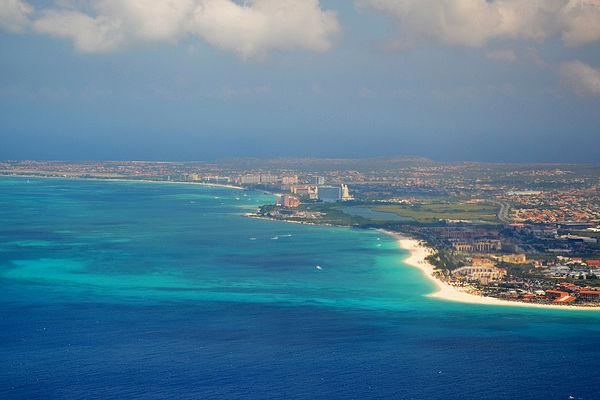 islas paradisiacas aruba venezuela