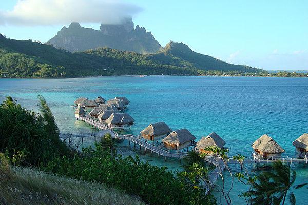 islas paradisiacas bora bora
